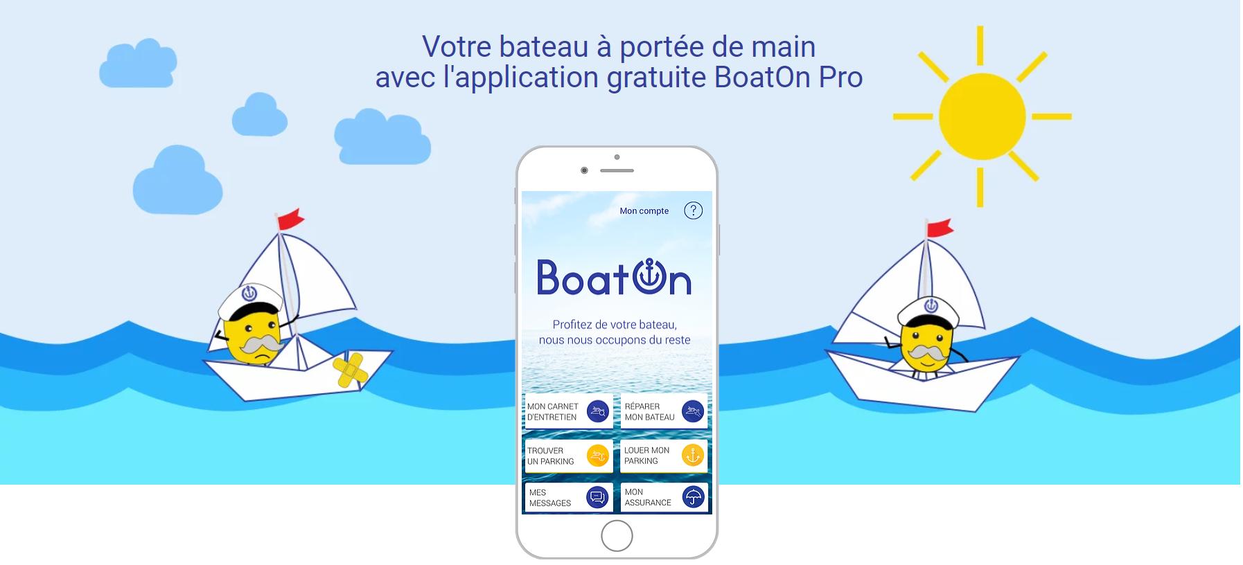 Application BoatOn