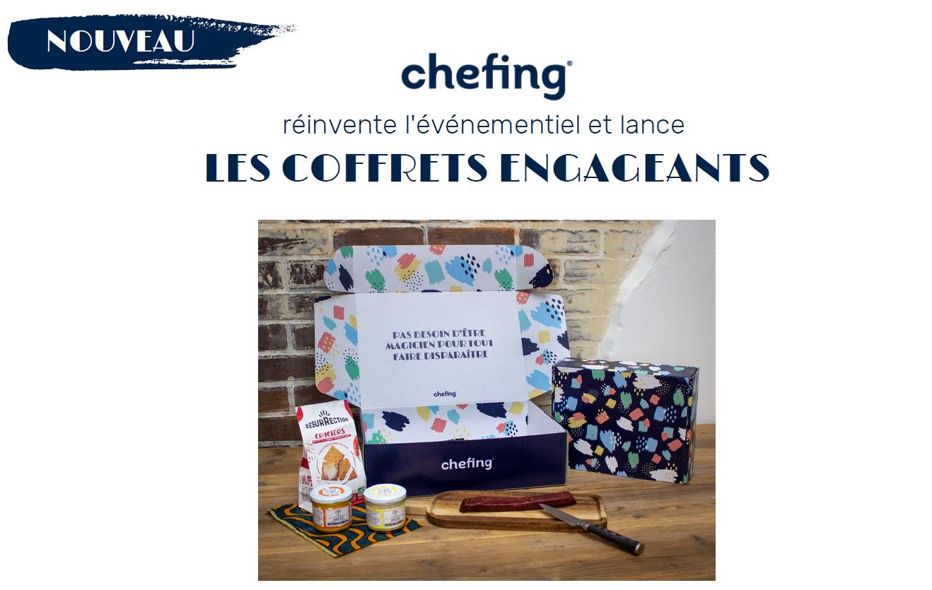 chefing coffrets engagants